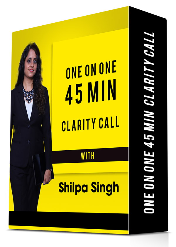 one-on-one 45 min career clarity call